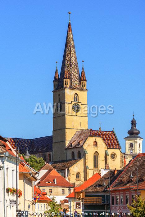 Protestant City Church, Sibiu, Transylvania, Romania
