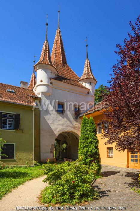 Poarta Ecaterinei, Catherines gate, Brasov, Transylvania, Romania