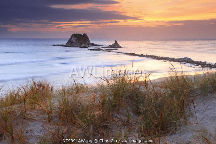 Sunrise at Mangawhai, New Zealand