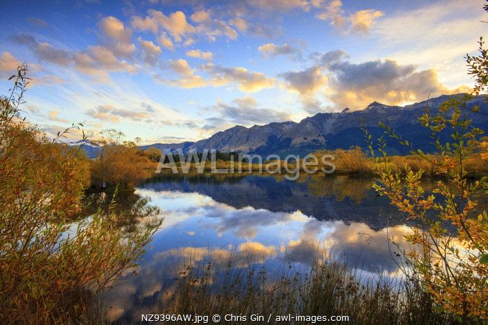 Sunrise at Glenorchy, Otago, New Zealand