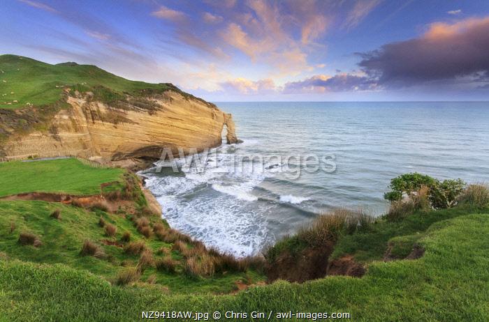 Sunrise at Cape Farewell, Tasman, New Zealand