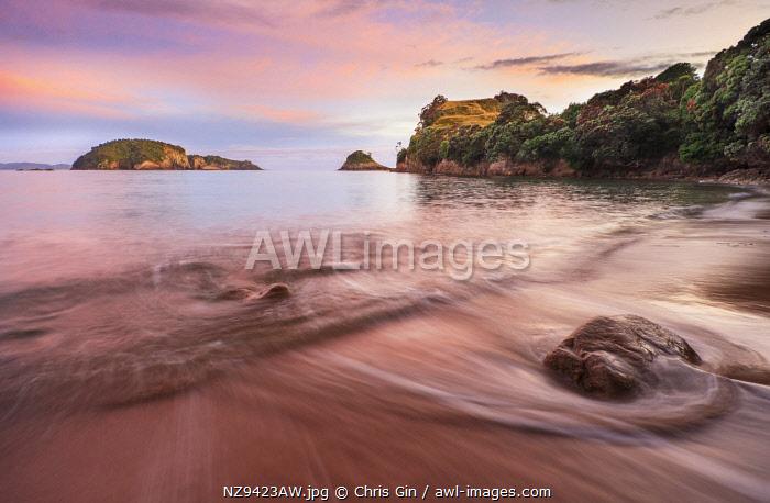 Sunrise at Hahei Beach, Coromandel Peninsula, New Zealand
