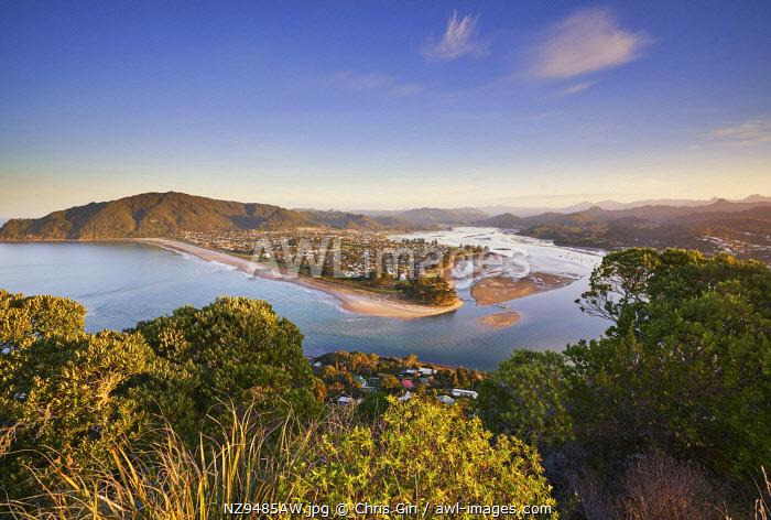 The view from Mount Paku, Tairua, Coromandel Peninsula, New Zealand