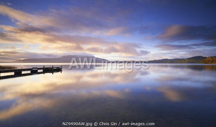 Lake Tarawerea sunrise, Rotorua, New Zealand