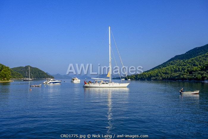 Europe, Croatia, Sipan. The Bay.