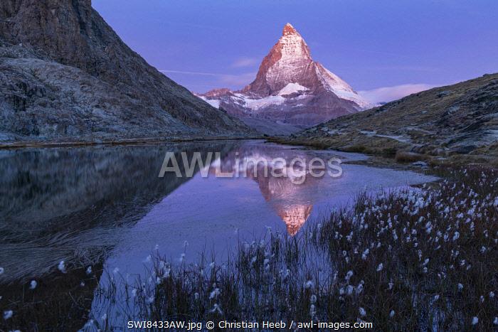 Switzerland, Swiss Alps, Valais, Zermatt, Matterhorn