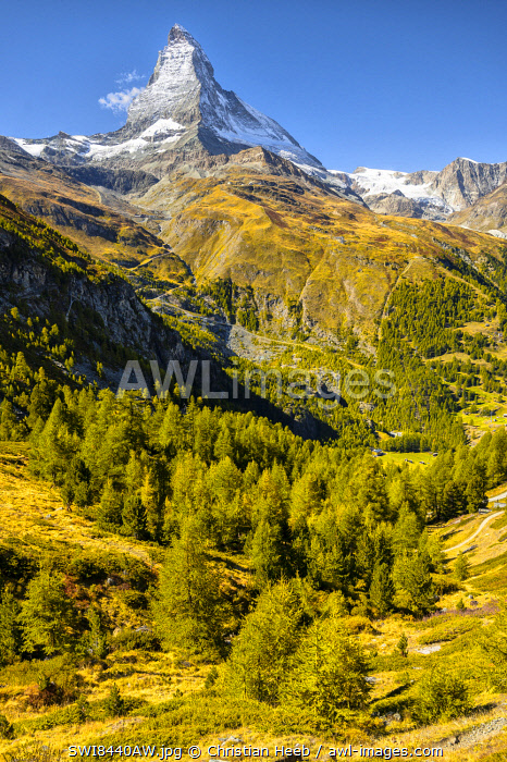 Switzerland, Swiss Alps, Valais, Zermatt, Matterhorn