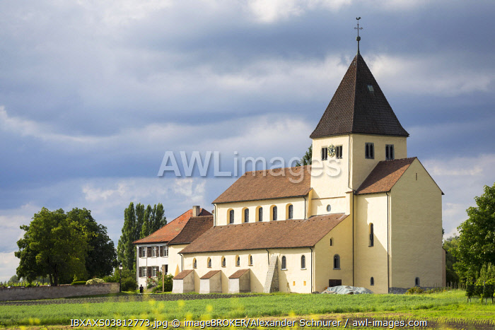 Church of St. George, Oberzell, Reichenau, UNESCO World Cultural Heritage Site, Baden-Wurttemberg, Germany, Europe