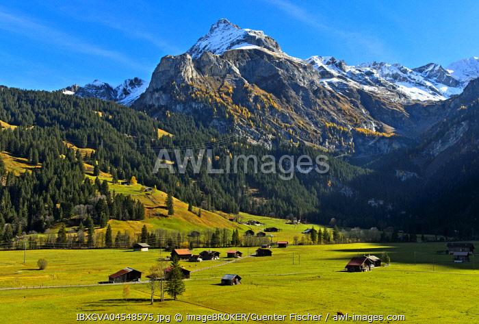 Spitzhorn, Bernese Alps, Gsteig near Gstaad, Canton of Berne, Switzerland, Europe