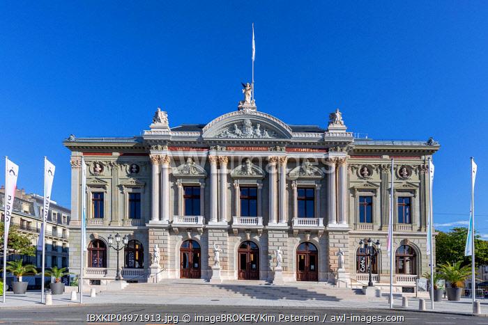 Grand Thea�tre de Geneve, Geneva, Switzerland, Europe