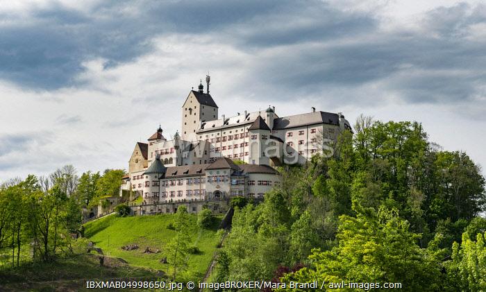 Hohenaschau Castle, Aschau im Chiemgau, Upper Bavaria, Bavaria, Germany, Europe