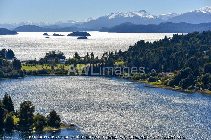 Lake Lago Nahuel Huapi near Bariloche, Ruta 40, Patagonia, Argentina, South America