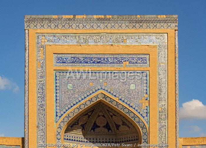 Allakuli Khan Madrasah, Khiva, Uzbekistan, Asia