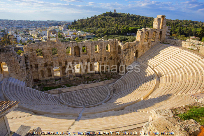 Odeon of Herodes Atticus, Athens, Greece, Europe