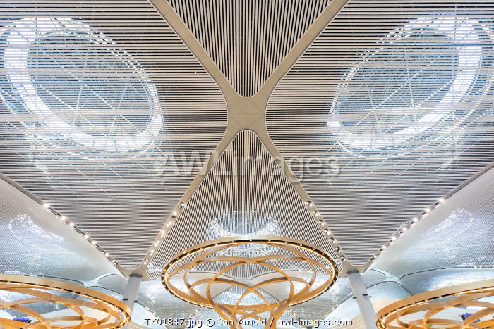 awl-images.com - Turkey / The new Istanbul airport (IST) - the largest terminal building in the world as of 2019, Istanbul, Turkey