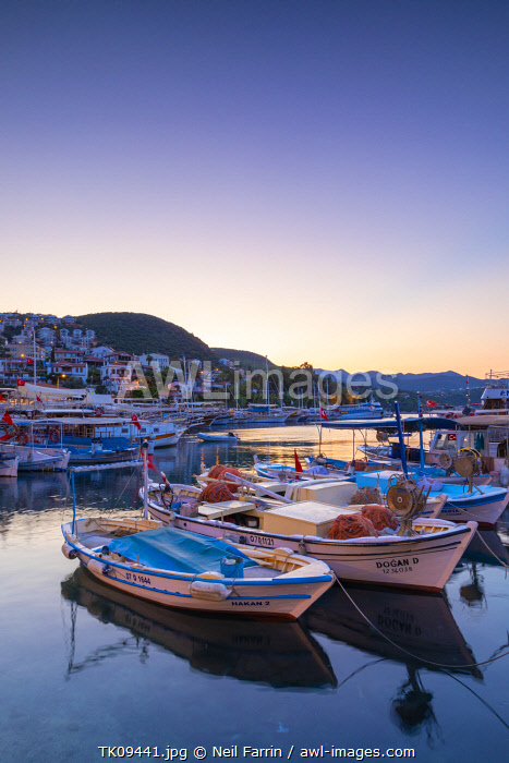 awl-images.com - Turkey / Kas Harbour, Kas, Turkey