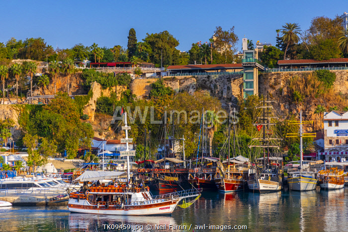 awl-images.com - Turkey / Antalya Harbour with New Lift and Viewing Area, Antalya, Turkey
