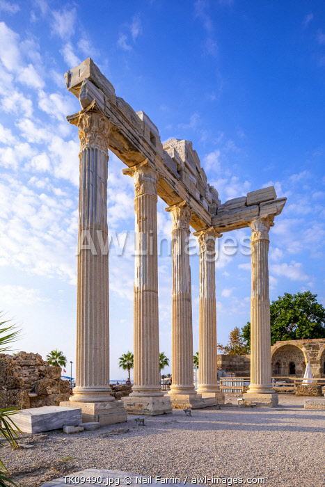 awl-images.com - Turkey / Apollo Temple, Side, Turkey