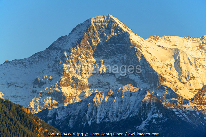 awl-images.com - Switzerland / View from Beatenberg on Eiger, Berner Oberland, Switzerland