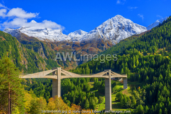 awl-images.com - Switzerland / Ganter bridge of Simplon pass road, Valais, Switzerland
