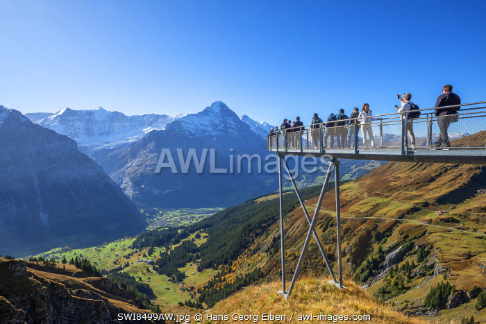 awl-images.com - Switzerland / First Sky walk with Eiger, Grindelwald, Berner Oberland, Switzerland