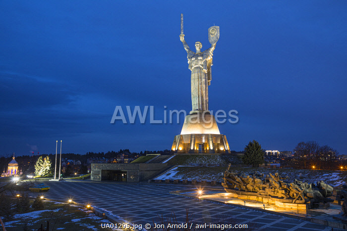 awl-images.com - Ukraine / Motherland Monument, National Museum of the History of Ukraine in WW2, Kiev (Kyiv), Ukraine