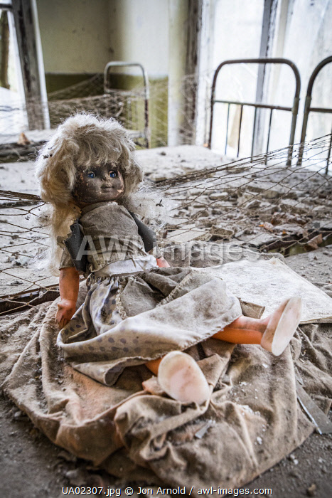 awl-images.com - Ukraine / Abandoned kindergarten near the Chernobyl nuclear power station, Chernobyl Exclusion Zone, Ukraine