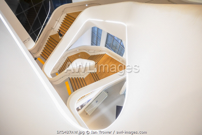 awl-images.com - South Korea / Staircase in Dongdaemun Design Plaza, Seoul, South Korea