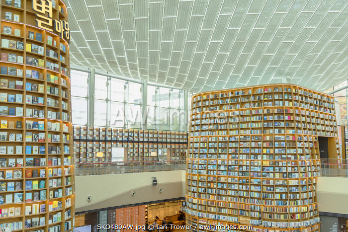 awl-images.com - South Korea / Starfield Library in COEX Mall, Seoul, South Korea