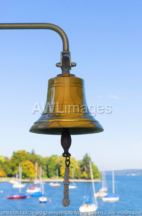 awl-images.com - Germany / Bell, Lake Starnberg, Funfseenland, Upper Bavaria, Bavaria, Germany, Europe