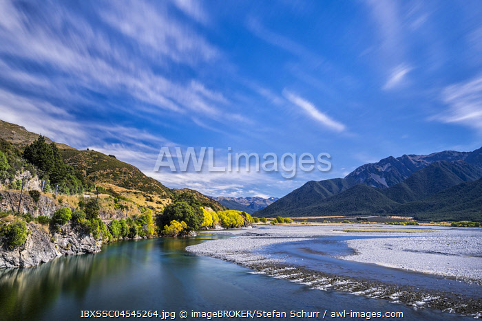 awl-images.com - New Zealand / Waimakairi River, Arthur's Pass National Park, Canterbury Region, South Island, New Zealand, Oceania