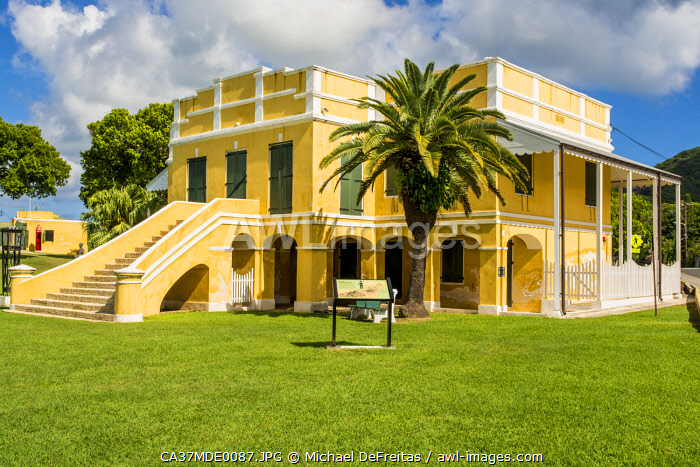 awl-images.com - US Virgin Islands / Old Danish Customs House, Christiansted National Historic Site, Christiansted, St. Croix, US Virgin Islands.