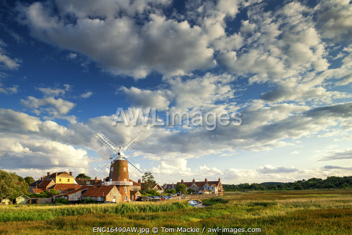 awl-images.com - England / Cley Mill, Cley-Next-The-Sea, Norfolk, England