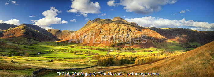 awl-images.com - England / View over Great Langdale, Lake District National Park, Cumbria, England