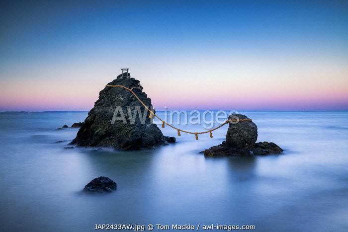Futamigaura (Wedded Rocks), Meoto Iwa,  Mie Prefecture, Japan