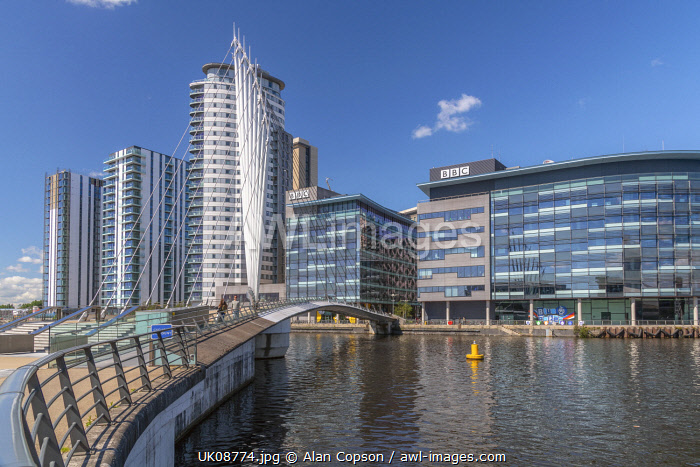 awl-images.com - England / UK, England, Greater Manchester, Salford, Salford Quays, North Bay, MediaCityUK