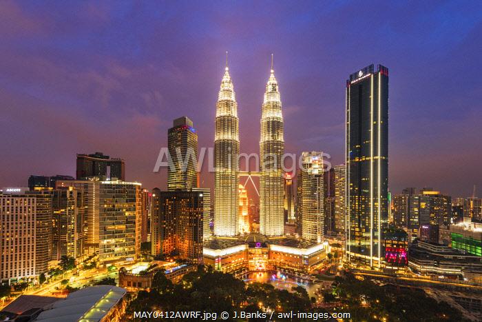 Petronas Towers, KLCC, Kuala Lumpur, Malaysia