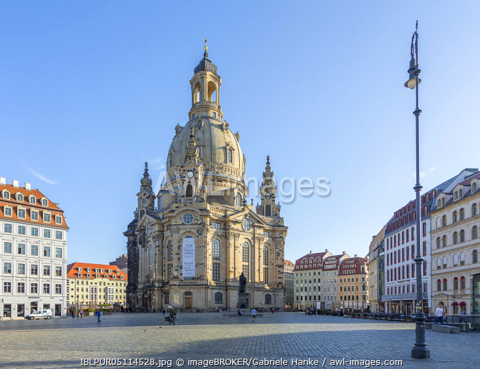 Church of Our Lady, Neumarkt, Dresden, Saxony, Germany, Europe