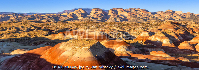 Beehives formations at sunrise, Utah, Western United States, USA