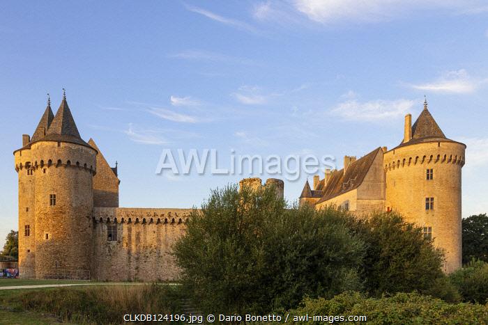 Brittany, Morbihan, France. Suscinio Castle