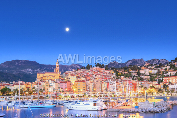 France, Provence, French Riviera Alps , Menton
