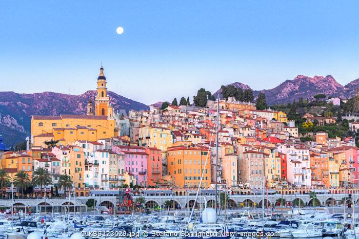France, Provence Alpes Cote D'Azur, Menton