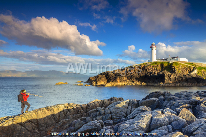 Fanad Head lighthouse, County Donegal, Ulster region, Ireland
