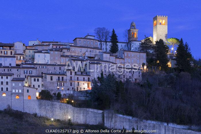 Europe, Italy, Umbria, Perugia district. Nocera Umbra