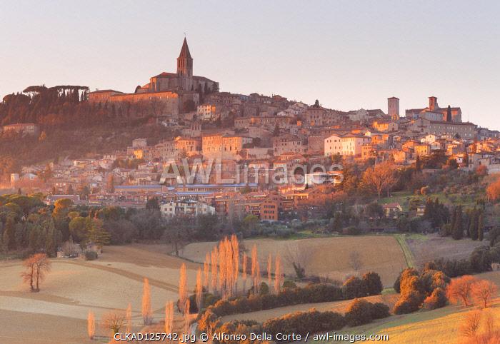 Europe, Italy, Umbria, Perugia district. Todi