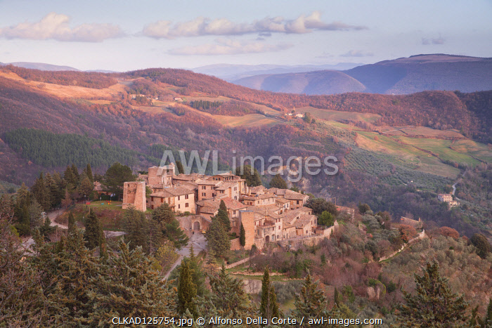 Europe, Italy, Umbria, Perugia district. Collepino