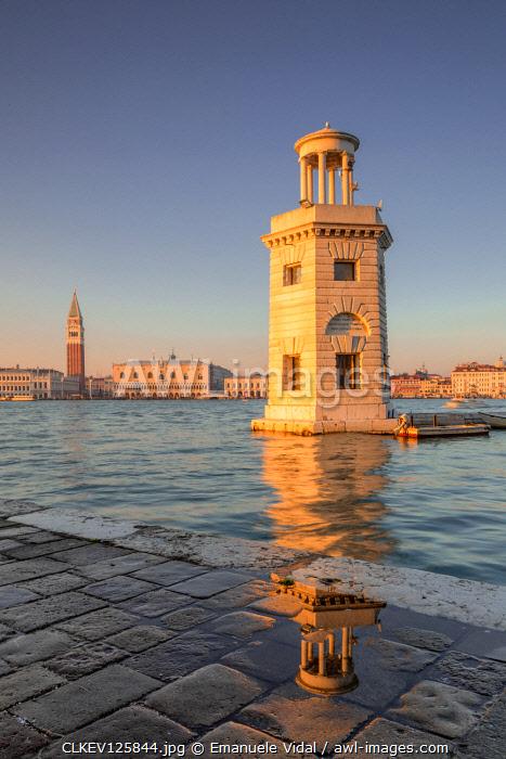The lighthouse of San Giorgio Maggiore, Venice, Veneto, Italy