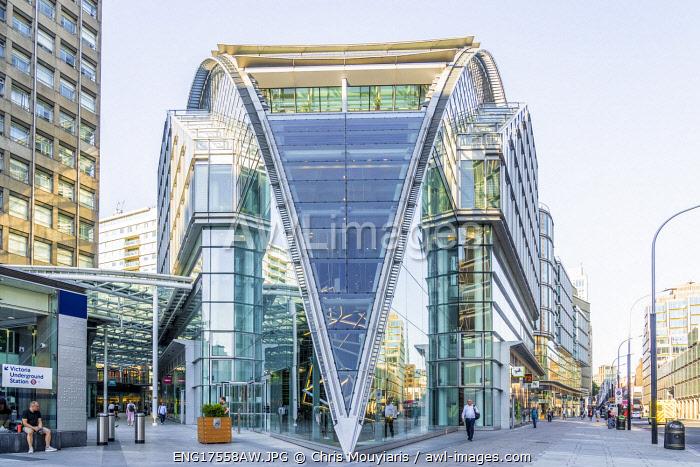 Cardinal Place, Victoria, London, England, UK