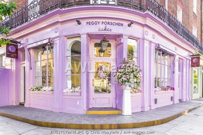 Peggy Porschen Cafe, Belgravia, London, England, UK