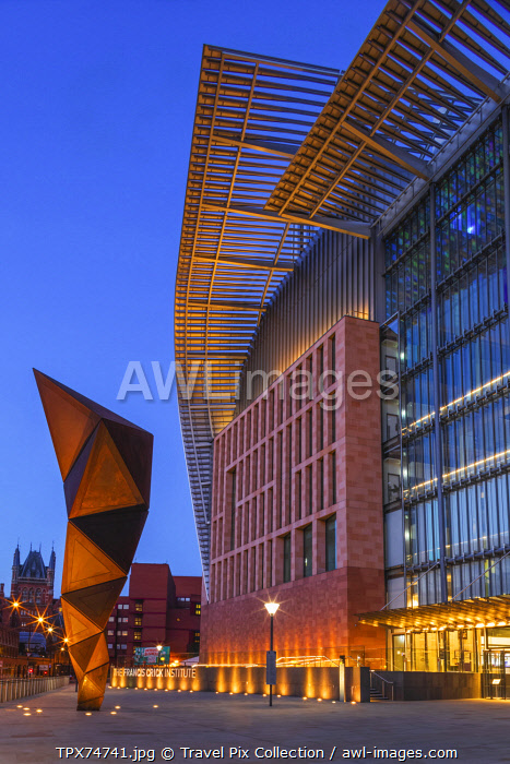 England, London, Kings Cross, The Francis Crick Institute of Bio-medical Research